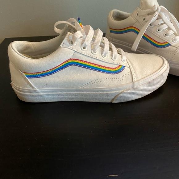Vans Pride Rainbow Old Skool Sneakers